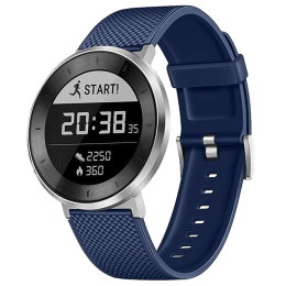 Huawei Fit Large Fitness Tracker (Heart Rate Monitoring , MES-B19, Black/Blue, Sport Band)_1