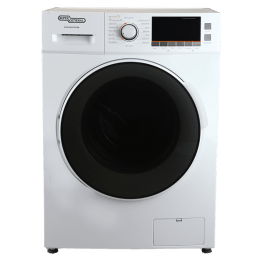 Super General 8/6 kg Front Loading Washer Dryer (SGWI 8600CRCMB, White)_1