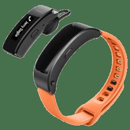 Huawei Talkband B3 Lite Fitness Tracker (Water & Dust Resistant, GRU-B09, Black/Orange, Rubber Band)_1