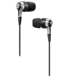 Denon In-Ear Wired Earphones with Mic (AH-C620R, Black)_1