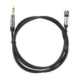 Croma 3.5mm Stereo 90 Degrees Aux Cable (EE0558 W9697, Black)_1