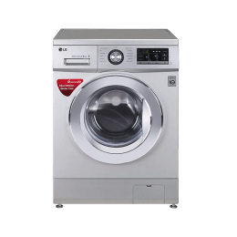 LG 7kg FH2G6HDNL42 Front Loading Washing Machine (Silver)_1