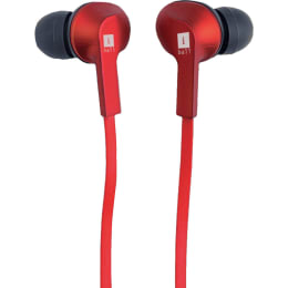 iBall MusiGripper B9 Bluetooth Earphone (Red)_1