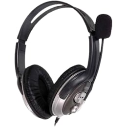 HP B4B09PA Headphone with Microphone (Black)_1