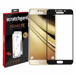 Scratchgard 3D Tempered Glass Screen Protector for Samsung Galaxy J7 Max (Black)_1