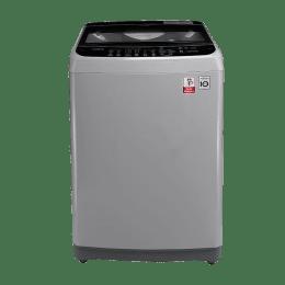 LG 6.5 kg Fully Automatic Top Loading Washing Machine (T7577NEDLJ, Silver)_1