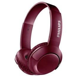 Philips SHB3075BK Wireless Headphones (Red)_1