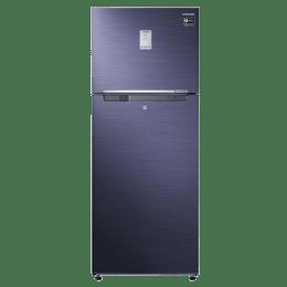 Samsung 345 L Frost Free Double Door Refrigerator (RT37M5538UT/TL,Blue)_1