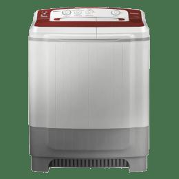 Samsung 8 kg Semi Automatic Top Loading Washing Machine (WT80M4000HR, Wine)_1