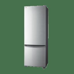 Panasonic 296 L 2 Star Double Door Bottom Freezer Refrigerator ( NR-BR307RSX1, Silver)_1