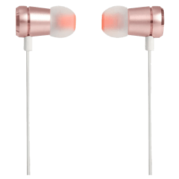 JBL In-Ear Wired Earphones with Mic (T290, Rose Gold)_1