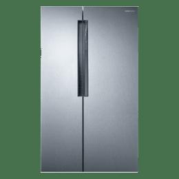 Samsung 674 L Frost Free Side By Side Inverter Refrigerator (RS62K60A7SL, Steel)_1