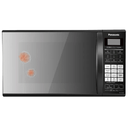 Panasonic 27 Litres Convection Microwave Oven (137 Auto Menu, NN-CT66HBFDG, Black Mirror)_1