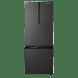 Panasonic 342 L 2 Star Frost Free Double Door Inverter Refrigerator (NR-BR347RKX1, Black)_1