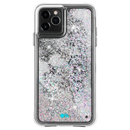 Case-Mate Waterfall Glitter Polycarbonate Back Case Cover for Apple iPhone 11 Pro (CM039784, Iridescent Diamond)_1