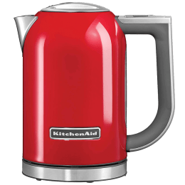KitchenAid 1.7 Litres 3000 Watts Electric Kettle (Detachable Base, Auto Switch Off, 5KEK1722DER, Red)_1