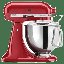 KitchenAid Artisan 300 Watt Stand Mixer (5KSM150PSDER, Empire Red)_1