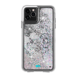 Case-Mate Waterfall Glitter Polycarbonate Back Case Cover for Apple iPhone 11 Pro Max (CM039828, Iridescent Diamond)_1
