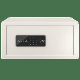 Godrej 25 Litres Safe Digital Locking Systems (NX Pro, Ivory)_1