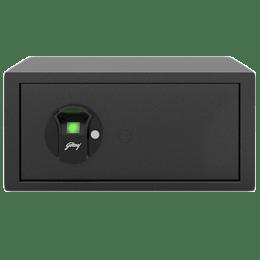 Godrej 25 Litres Safe Bio Smart Locks (NX Pro, Grey)_1