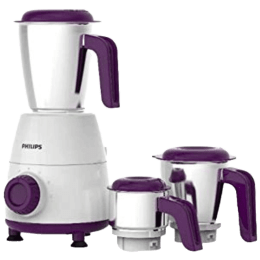 Philips Daily Collection 500 Watts 3 Jars Mixer Grinder (Spill-Free Lids, HL7505/00, White)_1