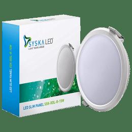 Syska 15 W Smart LED Light (SSK-RDL-SMW-S-15W-O-4000K, Warm White)_1