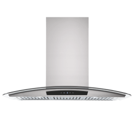 Whirlpool Acti Fresh 1150 m3/hr 90cm Downdraft Hood Chimney (Capacitive Touch, 9W CGA, Silver)_1