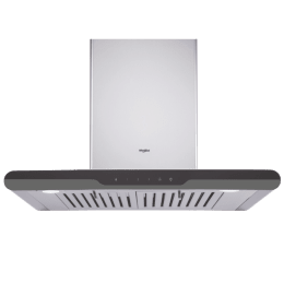 Whirlpool Acti Fresh 1150 m3/hr 60cm Wall Mount Chimney (Capacitive Touch Control, 6W TB, Steel)_1