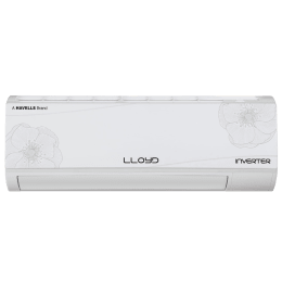 Lloyd 1.5 Ton 4 Star Inverter Split AC (Copper Condenser, LS18I42MP, White)_1