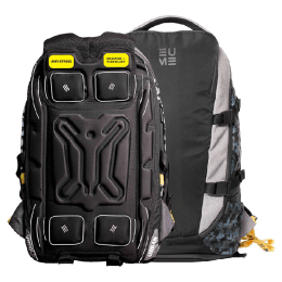 EUME Move 40 Litres Massager Travel Laptop Bag (Black)_1