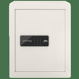 Godrej 40 Litres Safe Digital Locking Systems (NX Pro, Ivory)_1