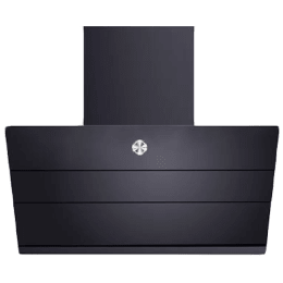 Hafele 90cm Smoke Panel Built-in Chimney (Ivaraa 90, Black)_1