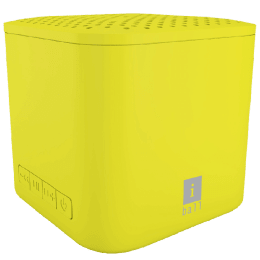 iBall Portable Bluetooth Speaker (Musi Cube X1, Yellow)_1