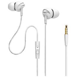 boAt In-Ear Wired Earphones with Mic (BassHeads 110, White)_1