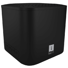 iBall Portable Bluetooth Speaker (Musi Cube X1, Black)_1
