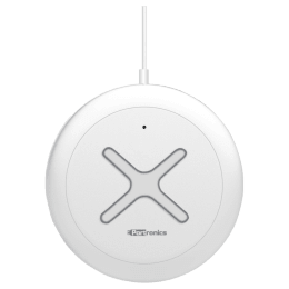 Portronics Toucharge X Wireless Mobile Charging Pad (POR 897, White)_1