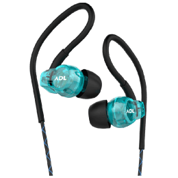 ADL Escape In-Ear Wired Earphones with Mic (S400, Blue)_1