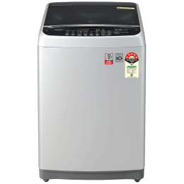 LG 7 kg Fully Automatic Top Loading Washing Machine (AFSQEIL, Silver)_1
