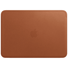 Apple Sleeve for 33.02 cm MacBook Pro (MRQM2ZM/A, Saddle Brown)_1