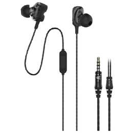 Ant Audio In-Ear Wired Earphones with Mic (W59, Black)_1