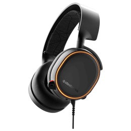 SteelSeries Arctis 5 Over-Ear Gaming Headset (61504, Black)_1