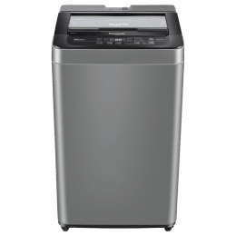Panasonic 6.2 Kg 5 Star Fully Automatic Top Loading Washing Machine (NA-F62B6CRB, Charcoal Inox Grey)_1