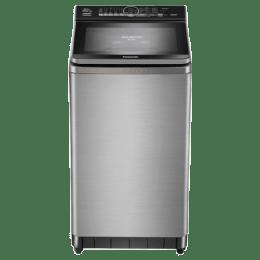 Panasonic 8 Kg 5 Star Fully Automatic Top Loading Washing Machine (F80S8SRB, Silver)_1
