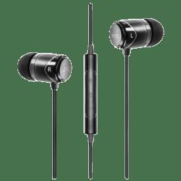 Soundmagic In-Ear Wired Earphones with Mic (E11C, Black)_1