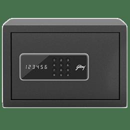 Godrej 8 Litres Safe Digital Locking Systems (NX Pro, Grey)_1