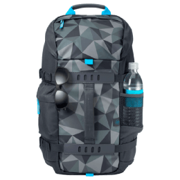HP Odyssey Facet 15.6 inch Laptop Backpack (5WK93AA, Grey)_1