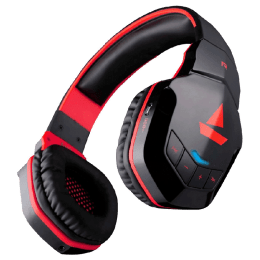 Boat Bluetooth Headphones (Rockerz 518, Red)_1