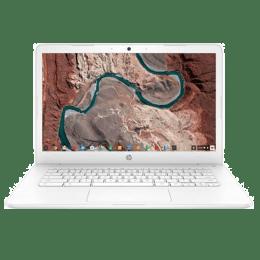 HP Chromebook CA003TU 6YU26PA#ACJ Celeron Dual Core Chrome Laptop (4 GB RAM, 64 GB eMMC + 100 GB Cloud Storage, Intel HD 500 Graphics, 35.56cm, Snow White)_1