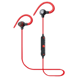 Ant Audio In-Ear Bluetooth Earphones (H25, Red)_1