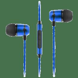 Soundmagic In-Ear Wired Earphones with Mic (E50C, Blue)_1